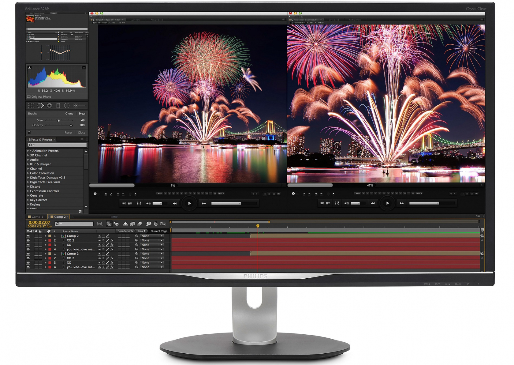 Philips' upcoming professional monitors feature USB-C and Gigabit Ethernet connectivity