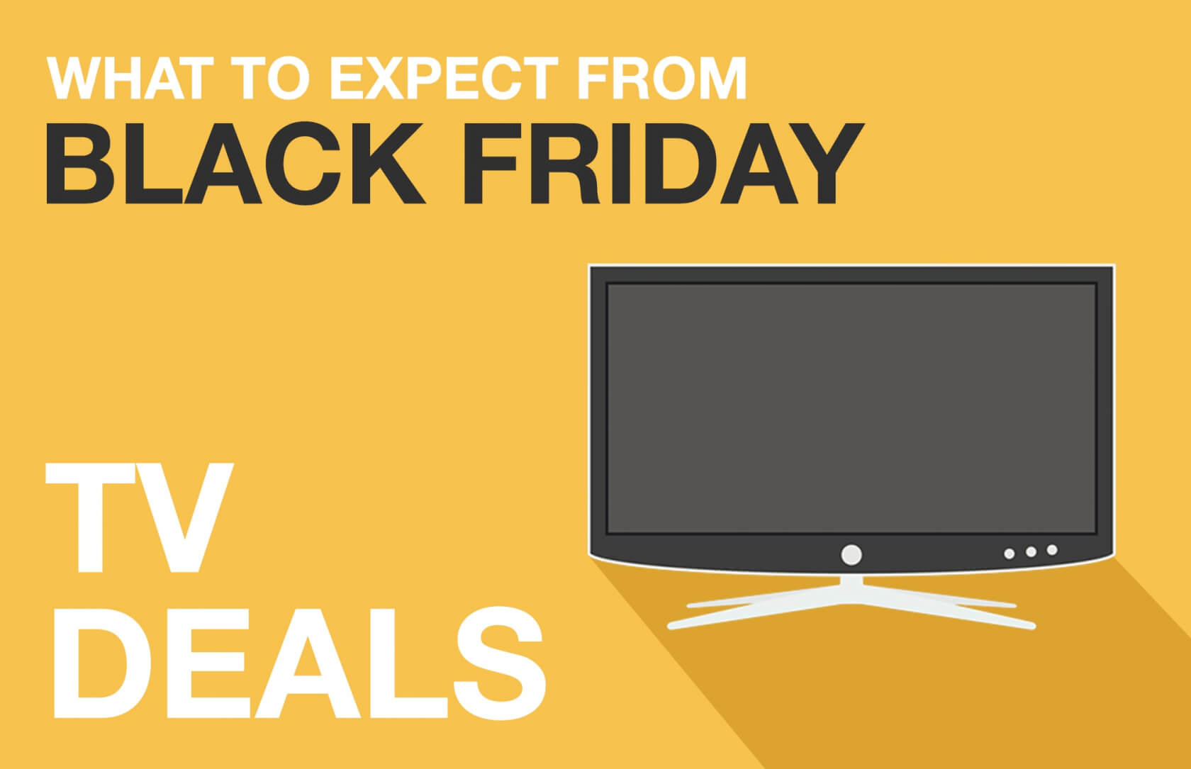 Black Friday predictions: 4K TV prices will be almost as cheap as 1080p