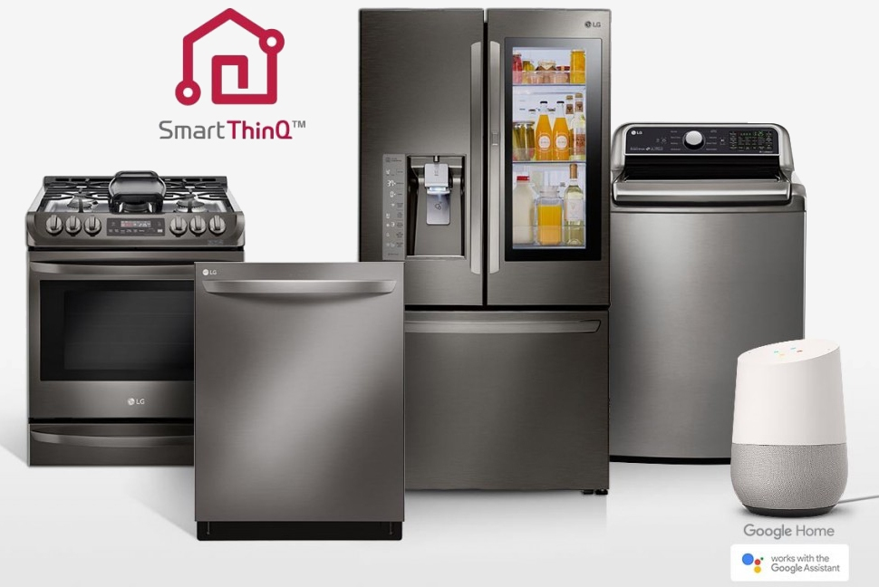LG brings Google Assistant to 87 appliances: washing machines, ovens, refrigerators and more