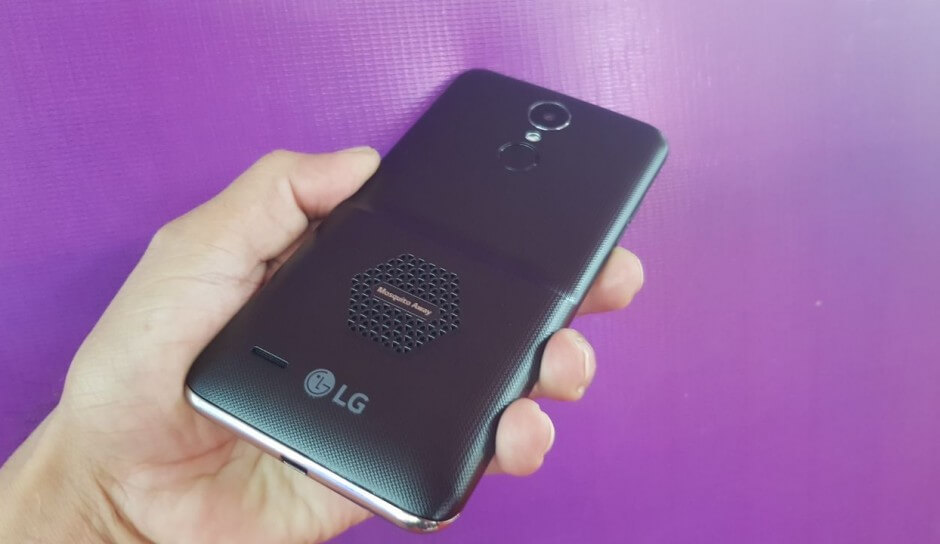 LG's K7i smartphone features mosquito repelling technology