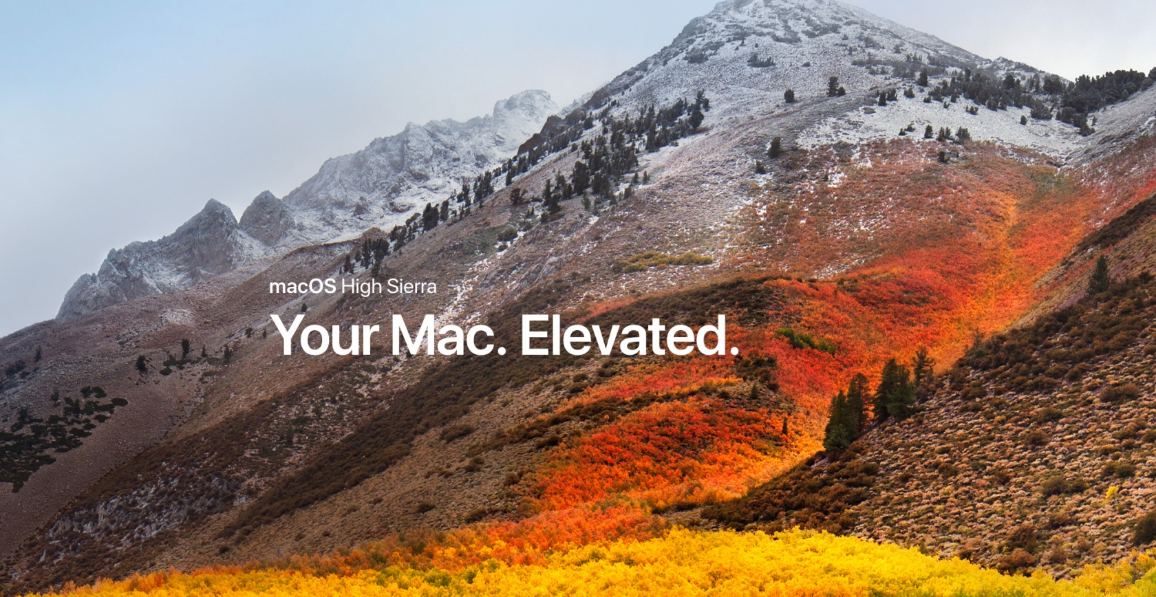 Is it time to upgrade to macOS High Sierra?