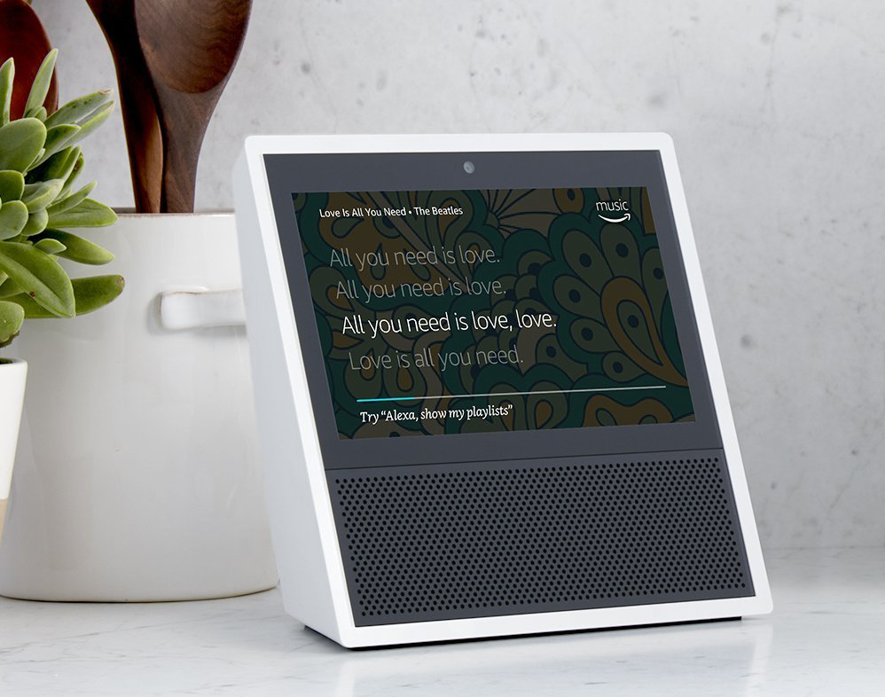Amazon unveils Alexa-powered, touchscreen-equipped Echo Show home speaker