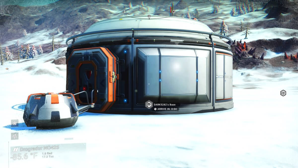 Archeology grad is excavating the ruins of an abandoned No Man's Sky player civilization