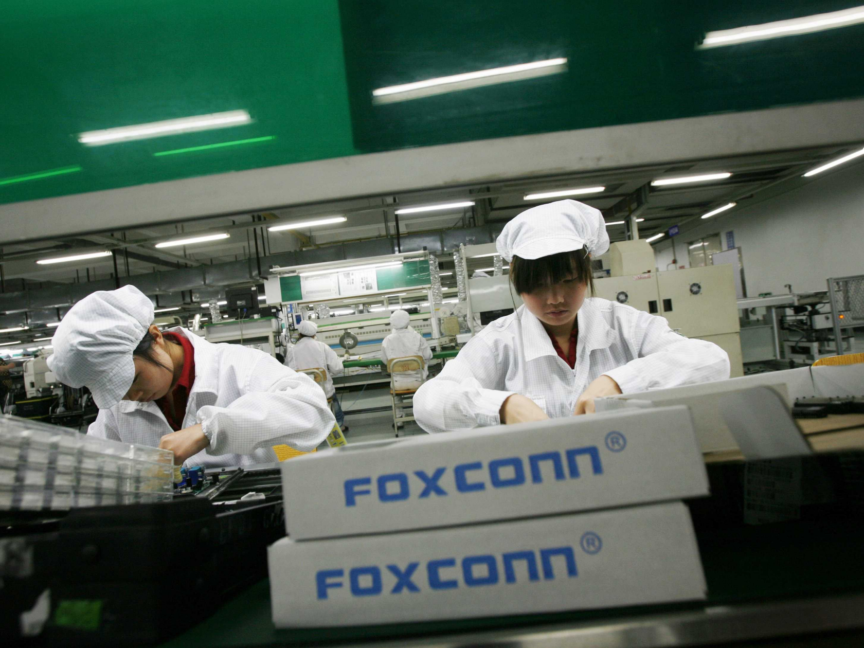 Foxconn chooses Mount Pleasant, Wisconsin for its $10 billion manufacturing facility