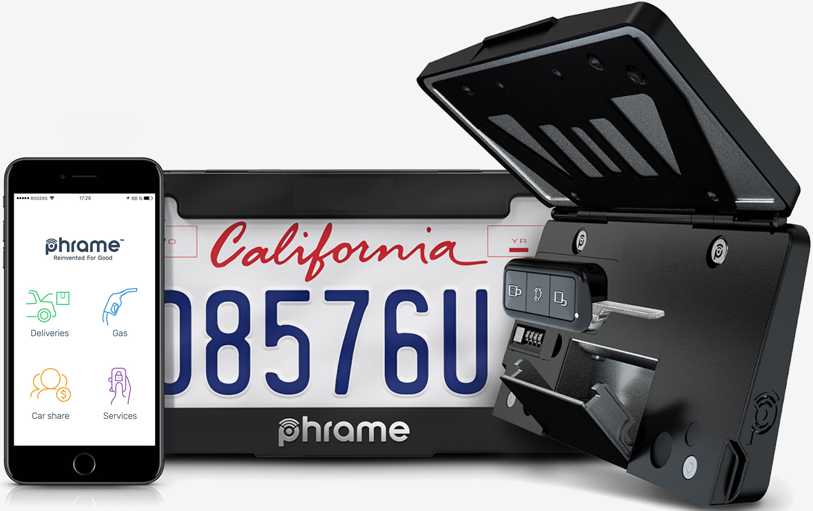 In an effort to cut down on failed deliveries amazon is reportedly working with a company called phrame which makes a license plate frame for your vehicle