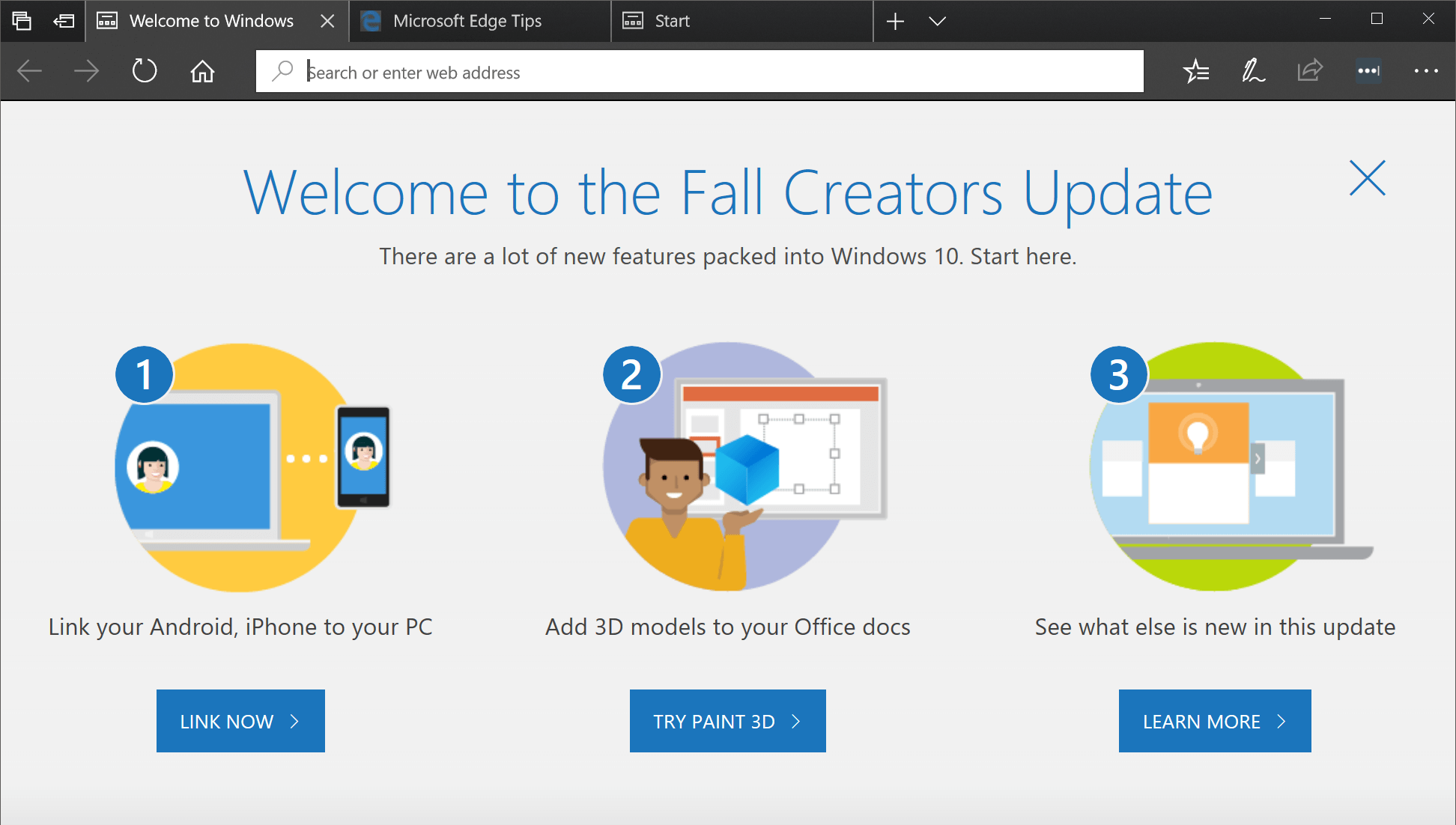 Windows 10 Fall Creators Update is now available: A collection of many small and medium-sized improvements