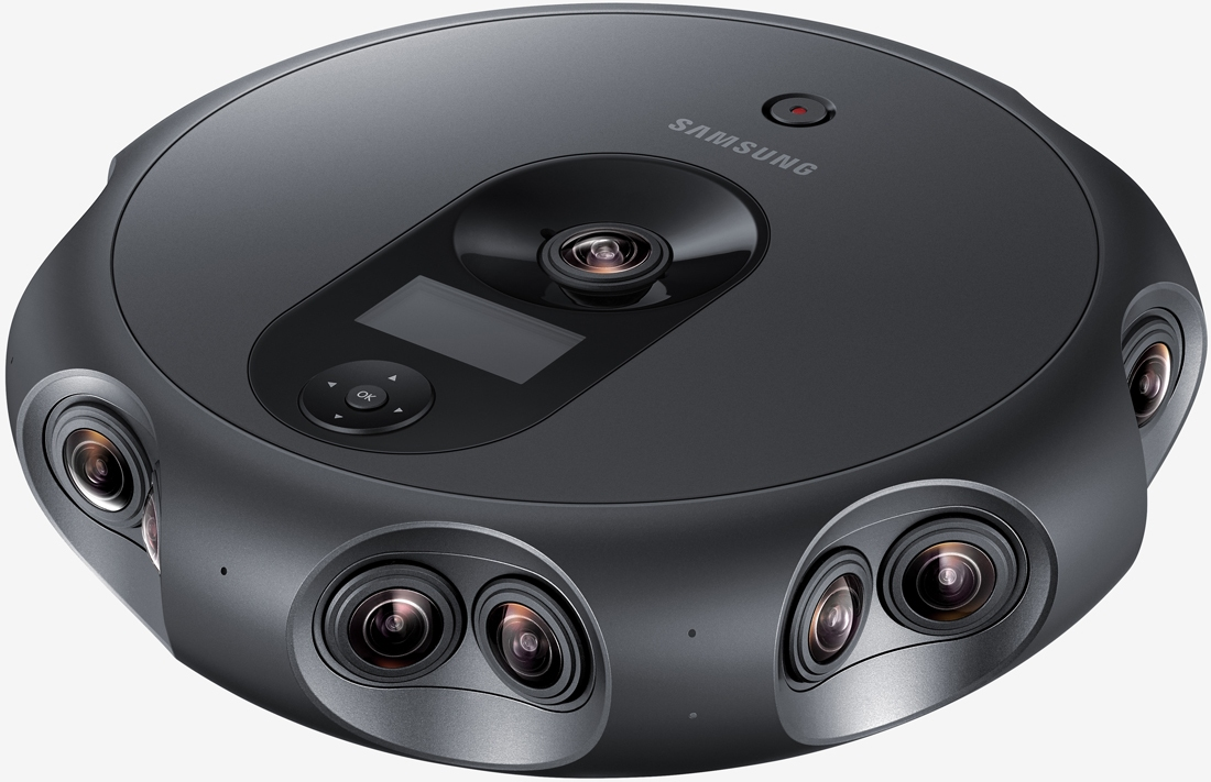 Samsung's new 360-degree camera requires 2 x GTX 1080 Ti