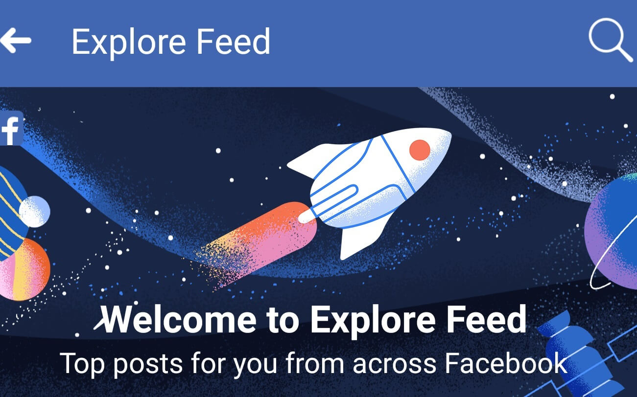 Facebook Adds a New Explore Tab to Its iOS App