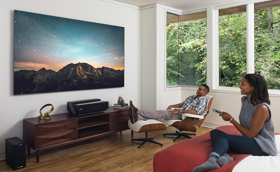 tv 100 inch. hisense at the consumer electronics show in january introduced its 4k laser cast tv. while it certainly looked impressive, was also a bit deceptive as tv 100 inch