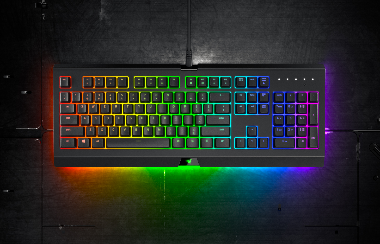 Razer launches value-priced Cynosa Chroma keyboards