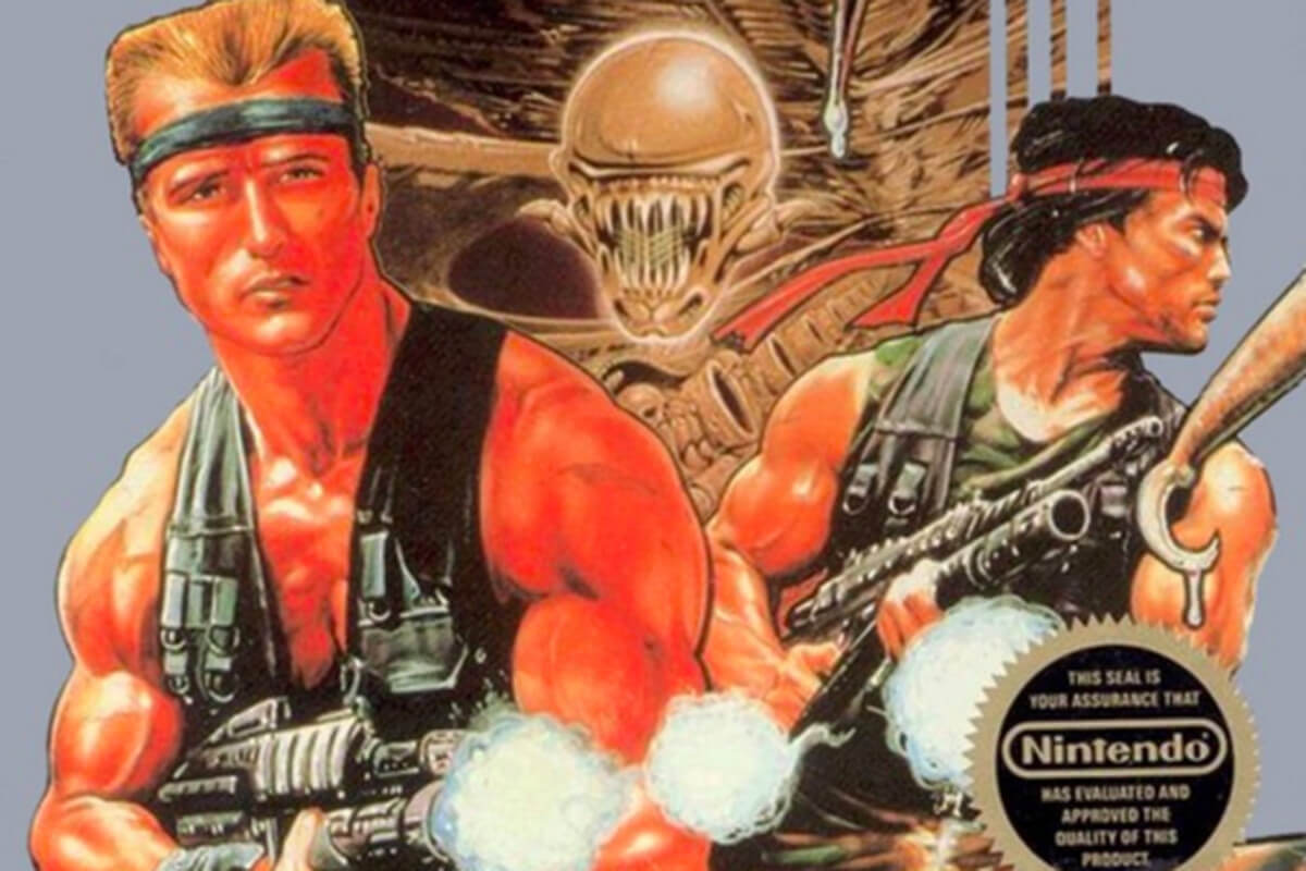 Classic Video Game Contra Is Getting Live-Action Movie And TV Series