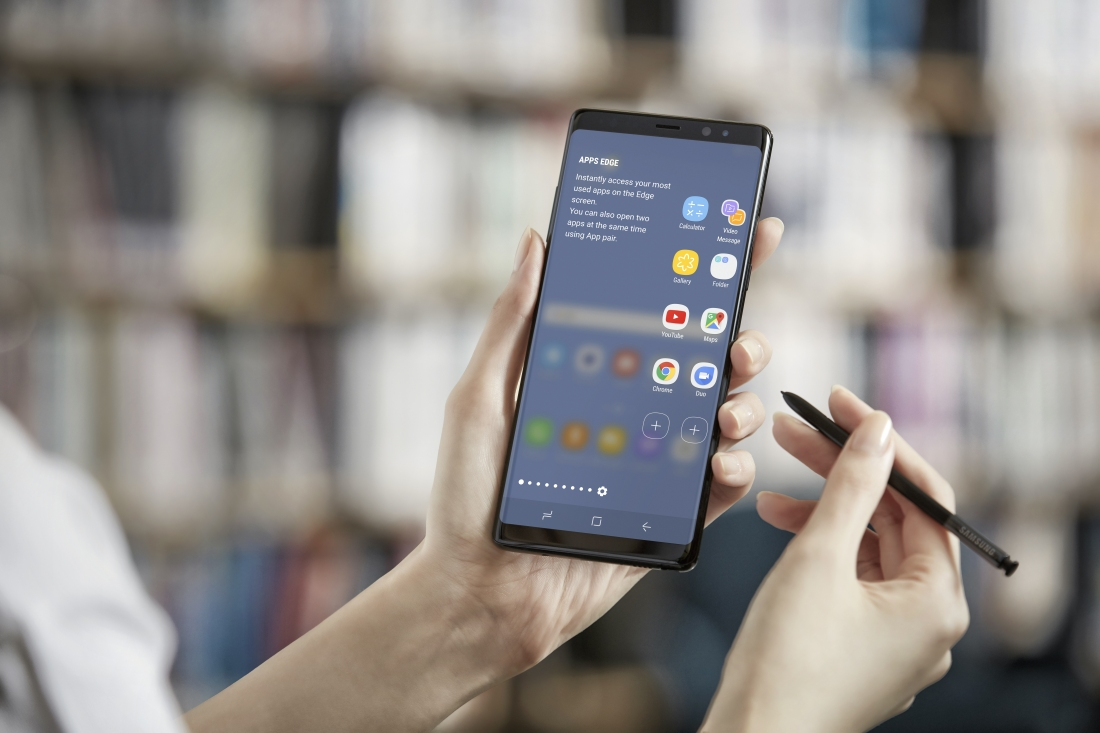 Samsung brings Galaxy Note 8 Enterprise Edition to the US