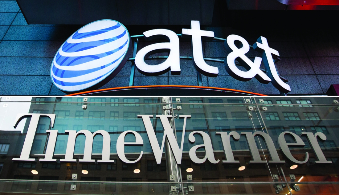Department of Justice may try to block AT&T's acquisition of Time Warner