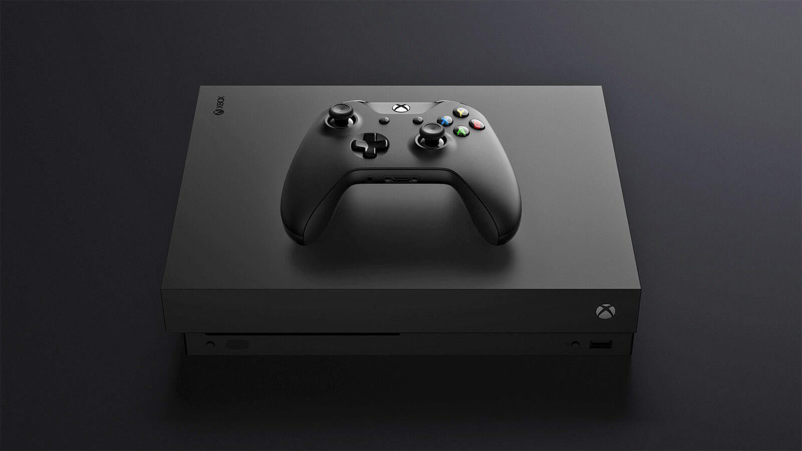 The Xbox One X will natively support 1440p displays