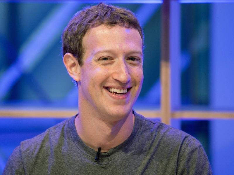 Facebook shares hit record highs despite warning on future profitability