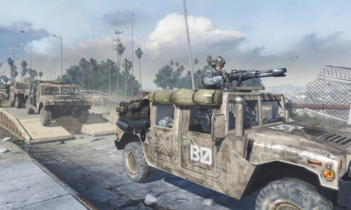 Humvee maker suing Activision for using its vehicles in Call of Duty without permission