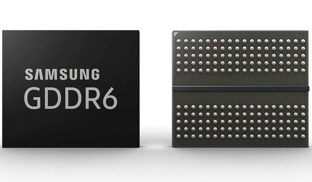 Samsung's GDDR6 memory can now reach 16Gbps, wins CES award