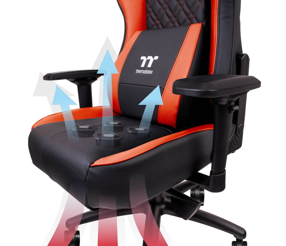 Thermaltake S New Gaming Chair Cools Your Butt With Four