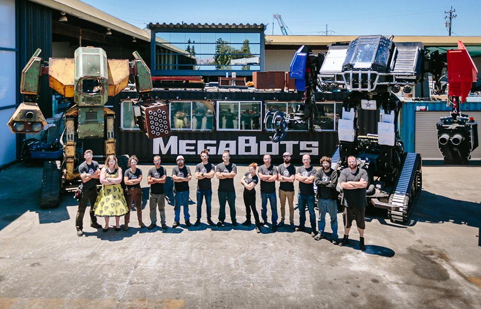 MegaBots wants to crowdfund a giant robot fighting tournament