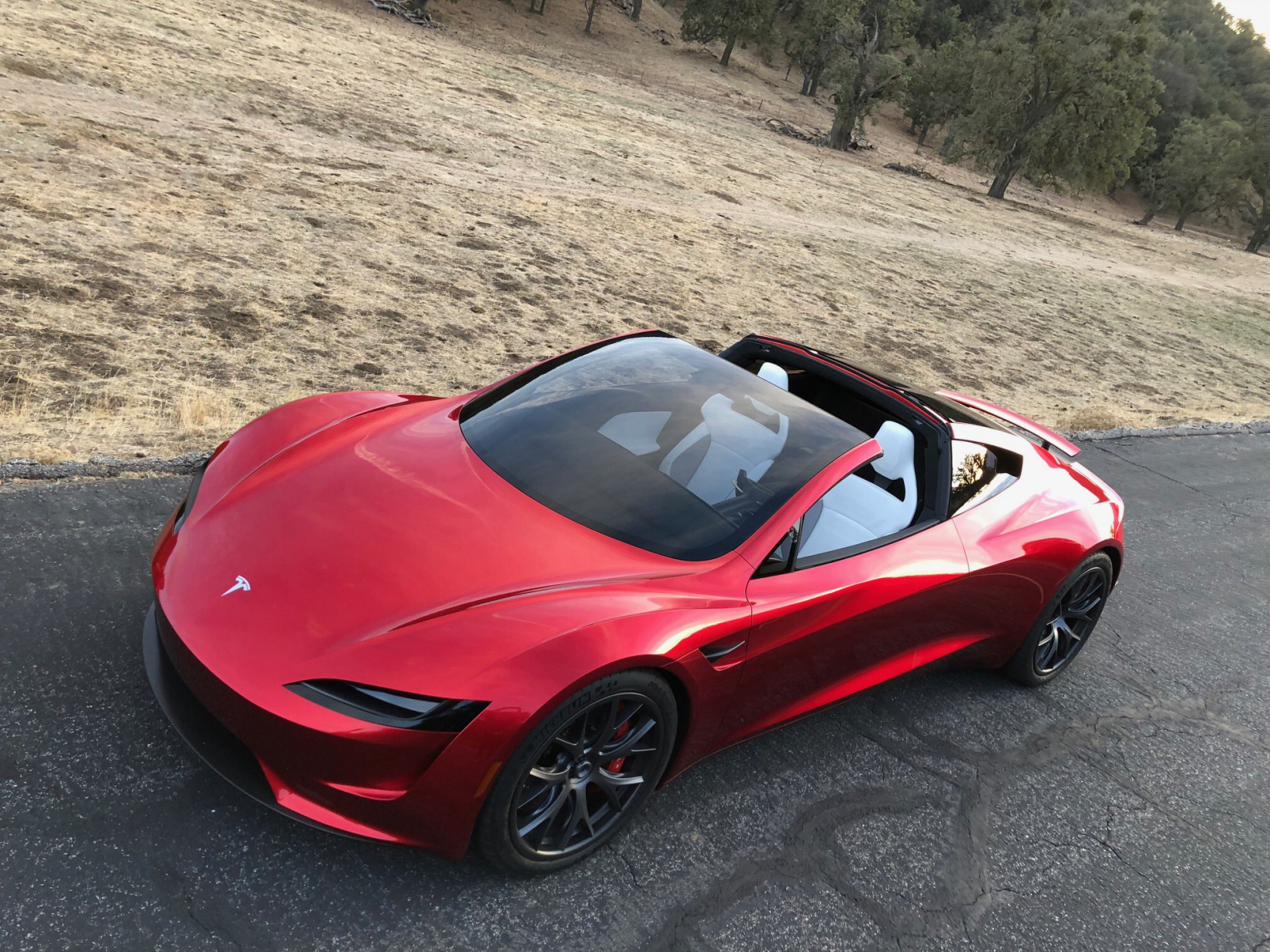 Teslas New Roadster Will Be The Fastest Production Car - A tesla car