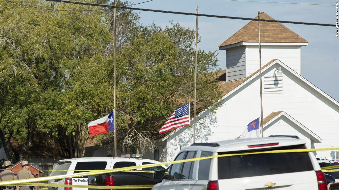 Apple served with search warrant over Sutherland Springs shooter's phone