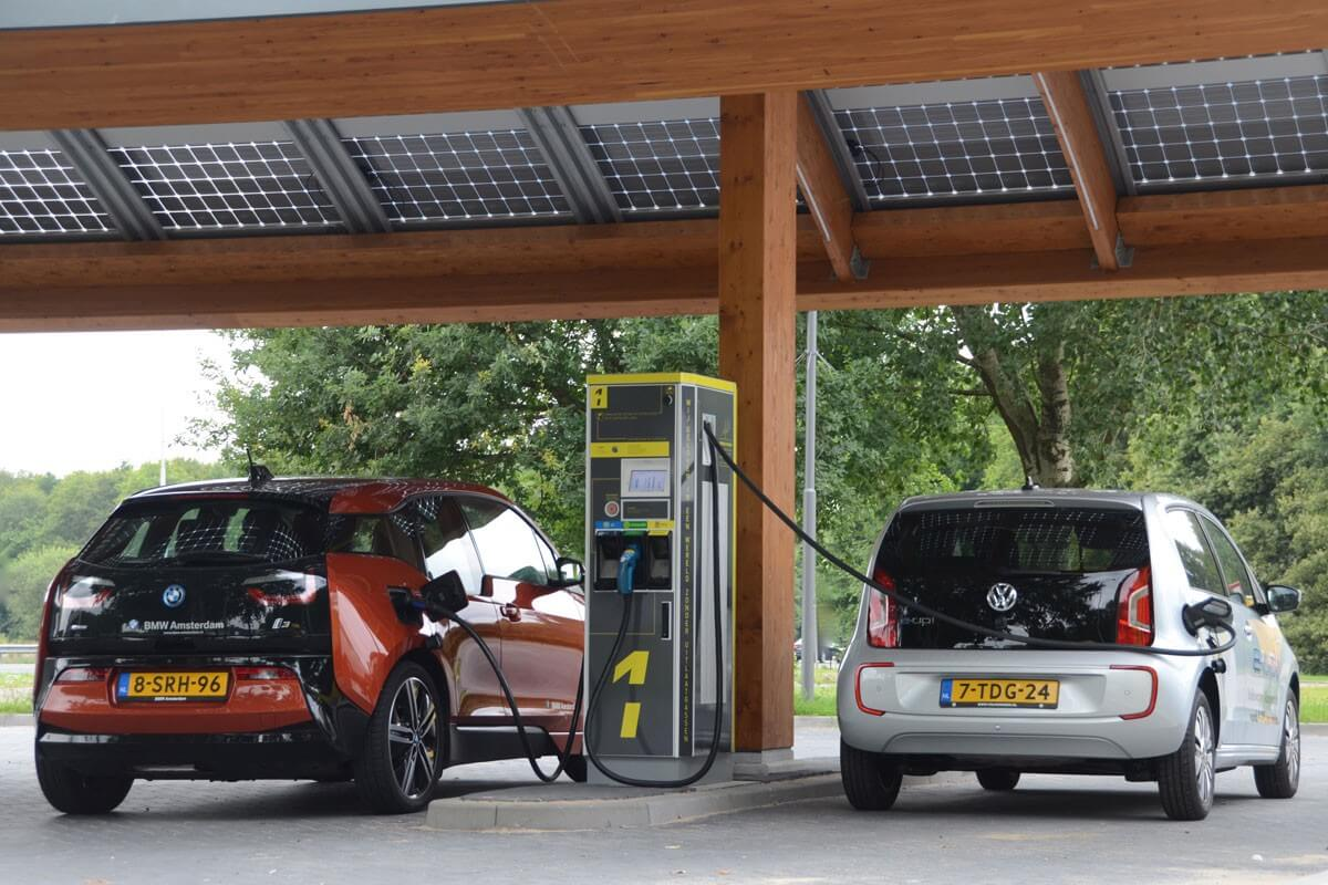 Shell goes green in Europe with 80 new electric vehicle charging stations