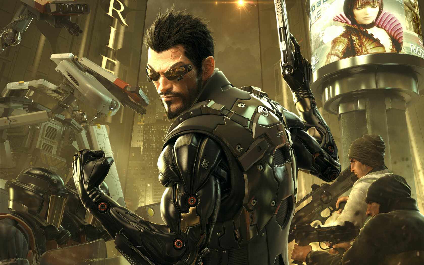 Square Enix isn't giving up on the Deus Ex series