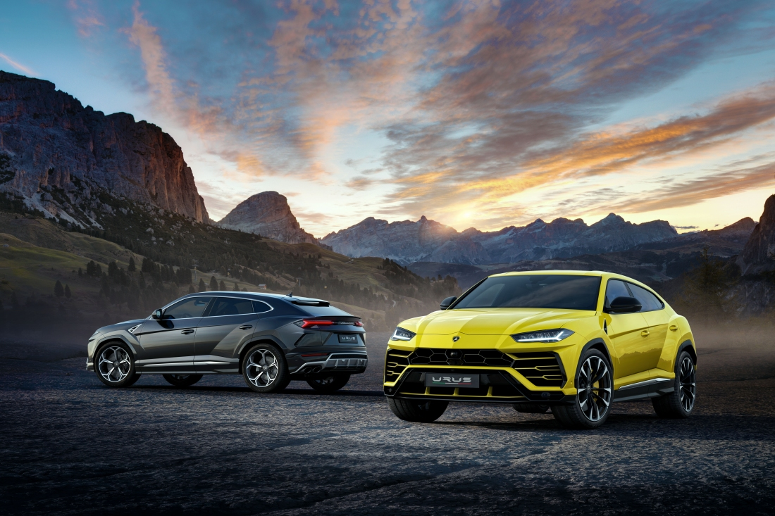 Lamborghini debuts the Urus today from Italy