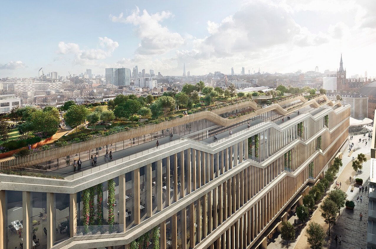 Google's London HQ could be the first of many 'landscraper' buildings