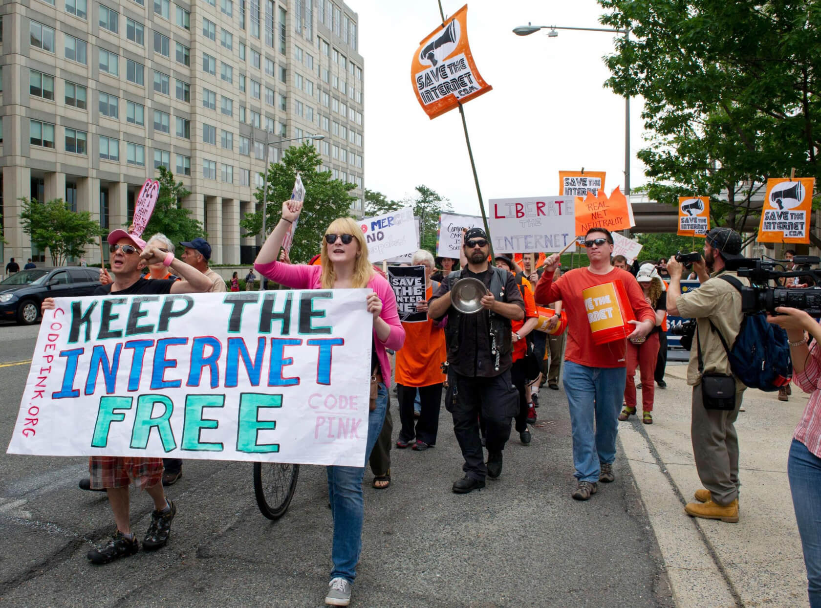 Rally to preserve Net Neutrality
