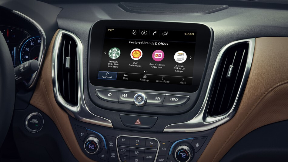 GM Drivers Can Now Order a Starbucks From Their Car's Touchscreen
