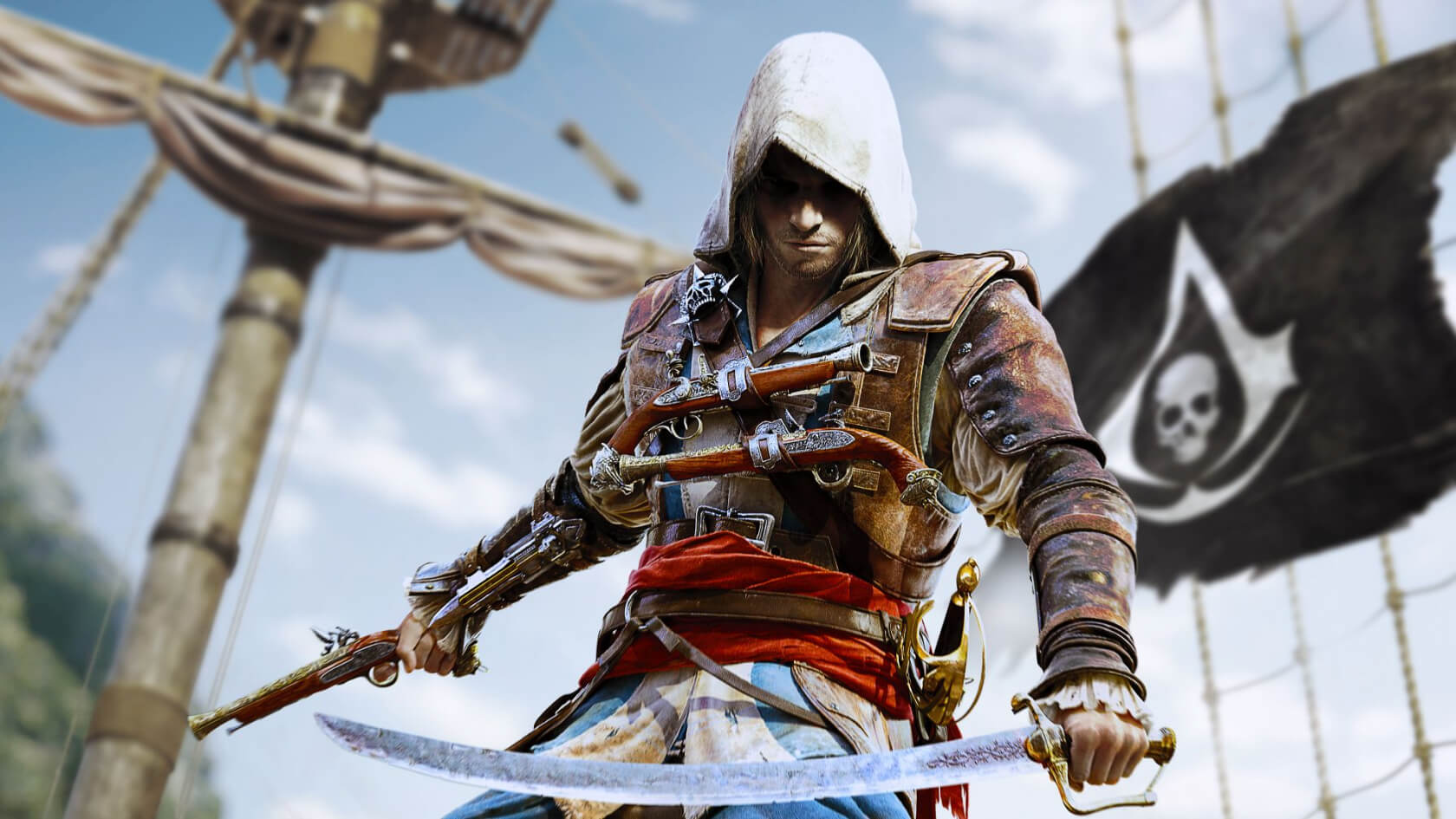 Get Assassin's Creed 4: Black Flag and World in Conflict free from Ubisoft this month