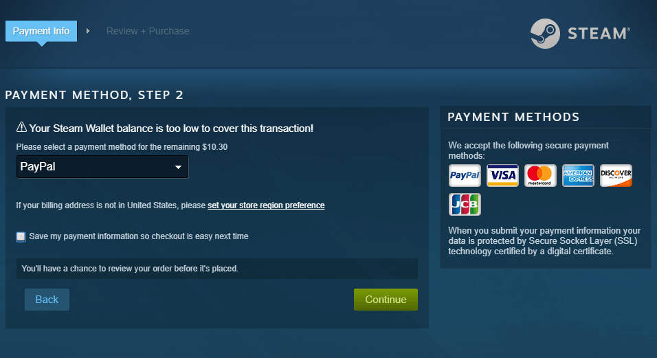 Steam suspends bitcoin support due to high fees techspot in the case of rapidly changing value offering customers refunds posed a problem for valve after giving customers a payment time window of several hours ccuart Choice Image