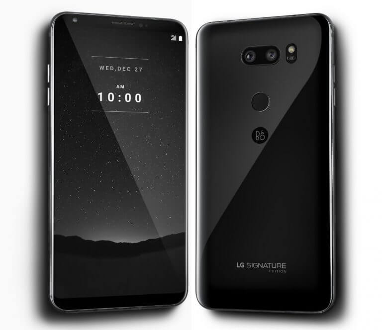 LG Signature Edition Smartphone Is An Expensive LG V30+