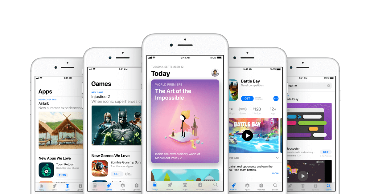 Apple brought pre-orders to App Store