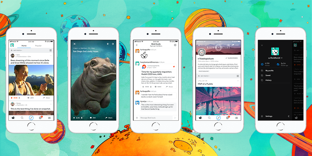 Reddit iOS App Gets Live Comments, New Moderator Tools and More