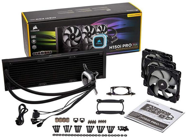 Corsair is adding bigger radiators and RGB to its lineup of coolers