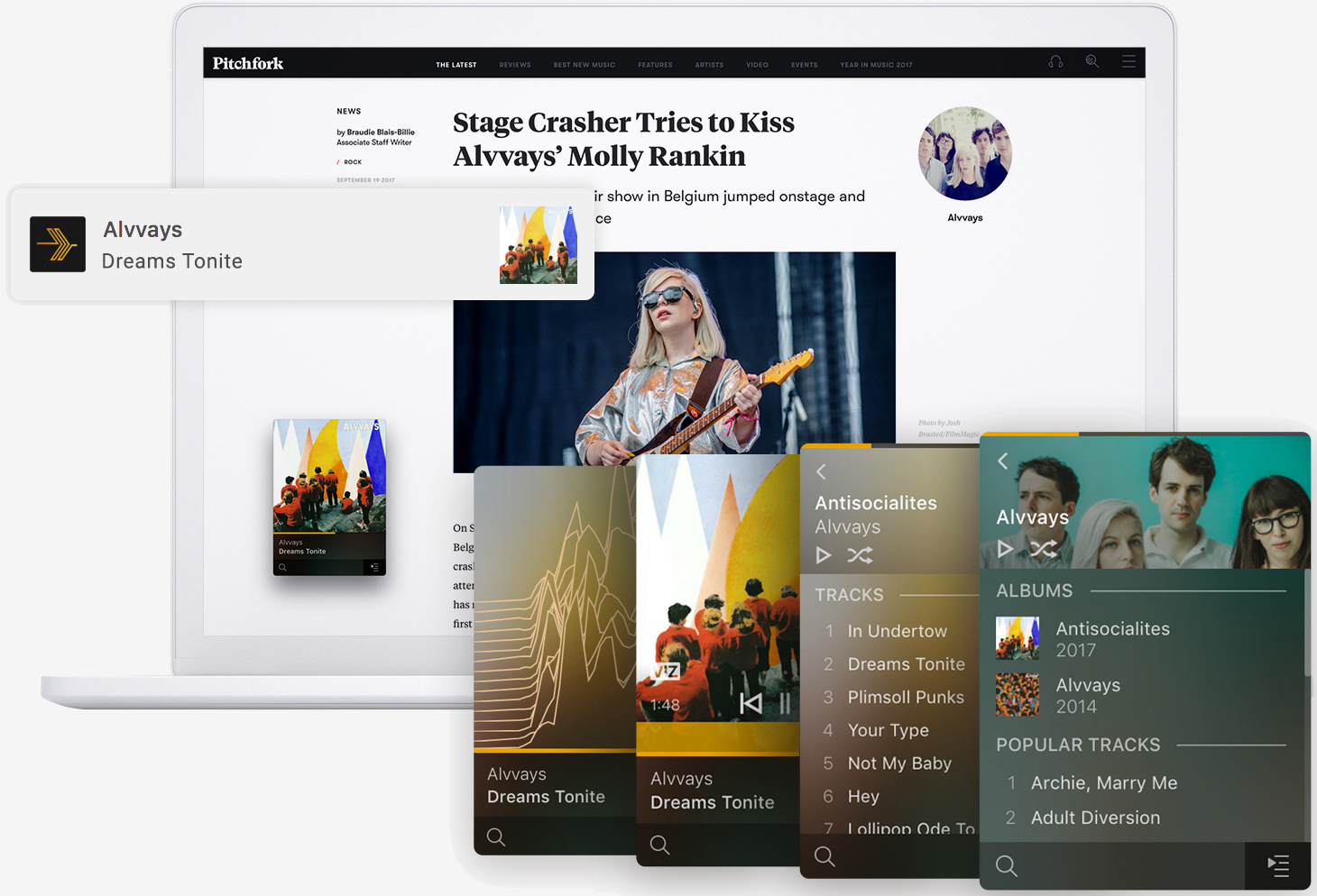 Plexamp is a Winamp-inspired standalone music player for macOS and Windows