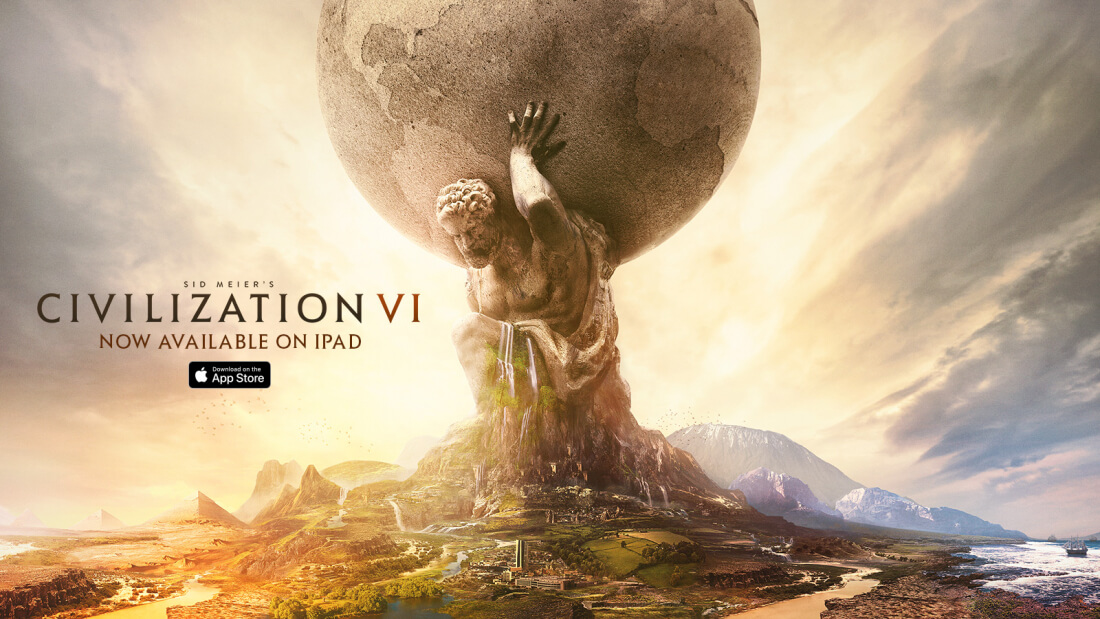 Civilization VI is available now on iPad for free (for 50 turns)