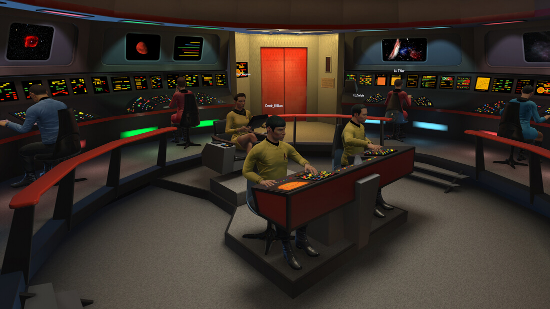 You can now play Star Trek: Bridge Crew without a VR headset
