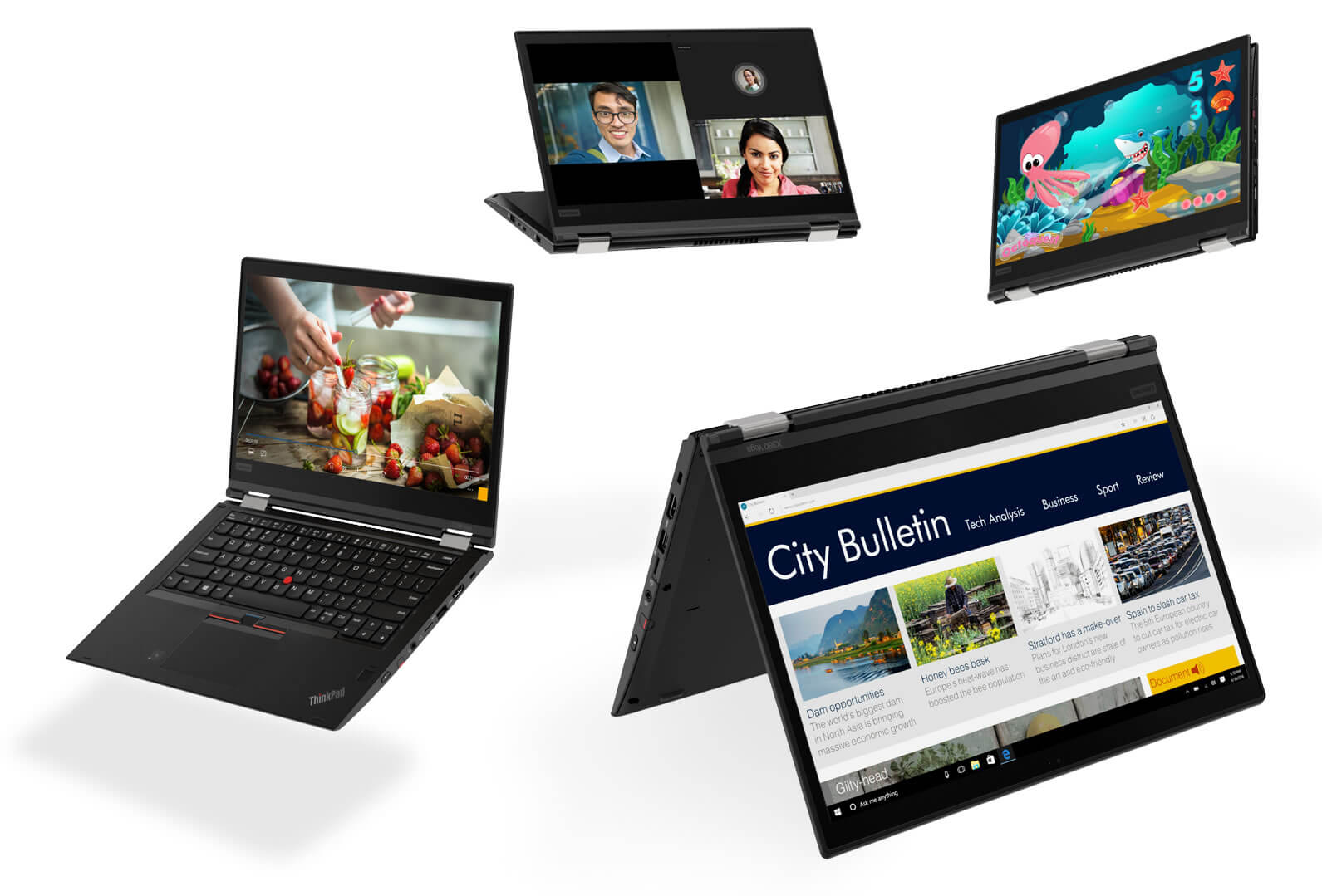 Lenovo ThinkPad X280 and X380 Revealed