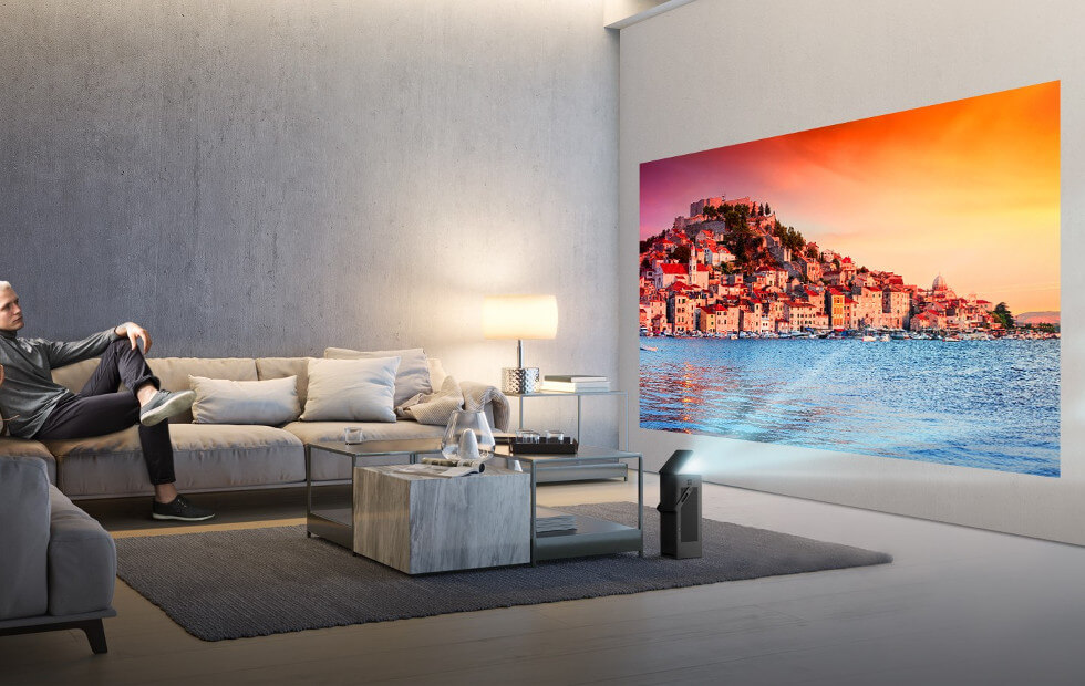 LG packs its first ever 4K projector for CES 2018