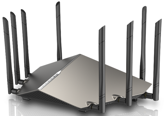 D-Link unloads an array of fast routers and surveillance cameras at CES