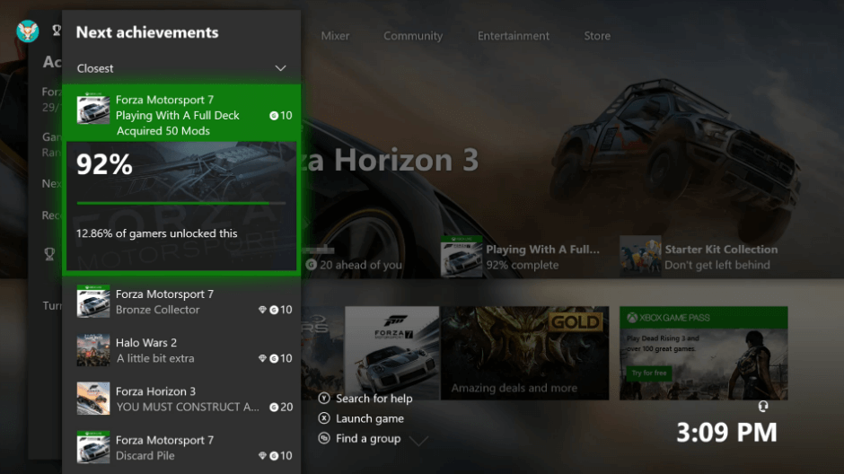 "Upcoming Xbox One update will add a ""do not disturb"" feature and improve achievement tracking"