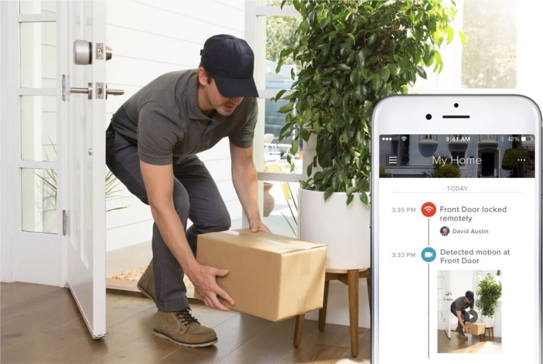 ... Amazon Key service - a $249 kit that lets Amazon Prime customers give delivery drivers one-time access codes that allow them to leave packages just ... & August Access is a service that will allow delivery drivers to ...
