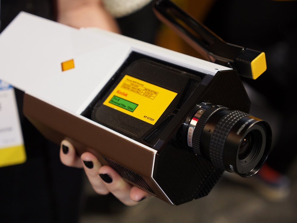 Kodak shares sample footage from retro-inspired Super 8 film camera