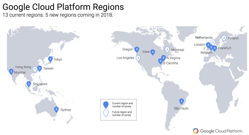 Google to Deploy Three New Undersea Cables for Cloud Infrastructure