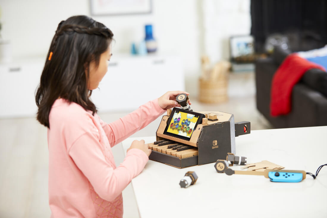 You can now pre-order Nintendo's cardboard Labo sets
