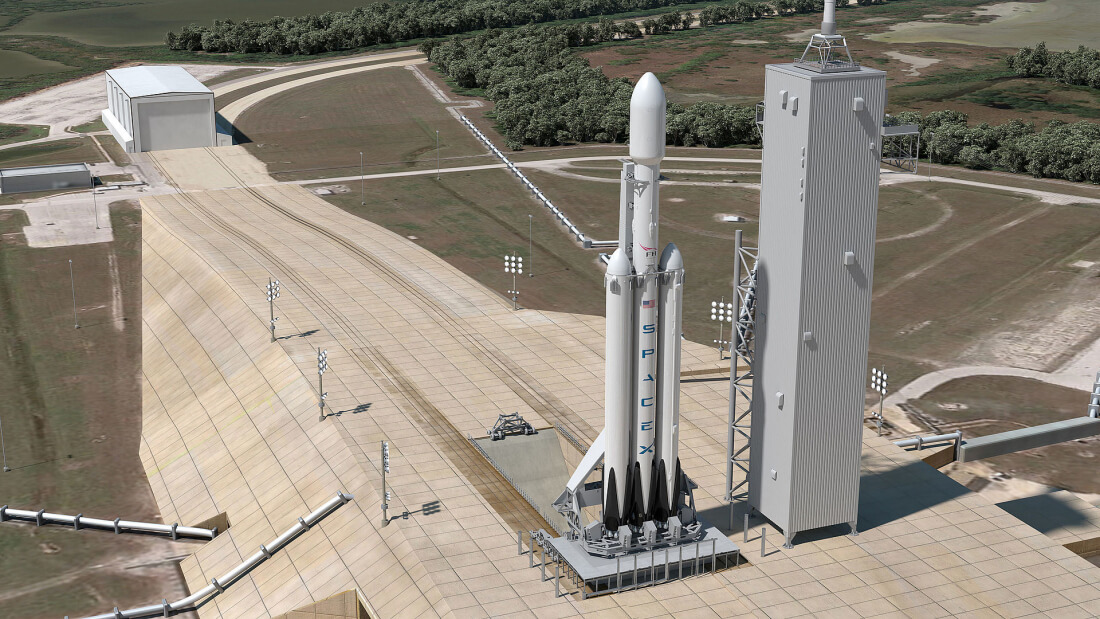 Falcon Heavy test-fire on hold due to government shutdown