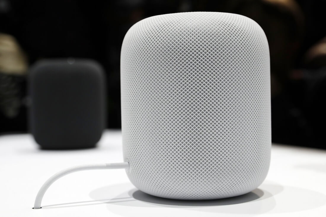 You may be able to mute the HomePod's always-on microphones